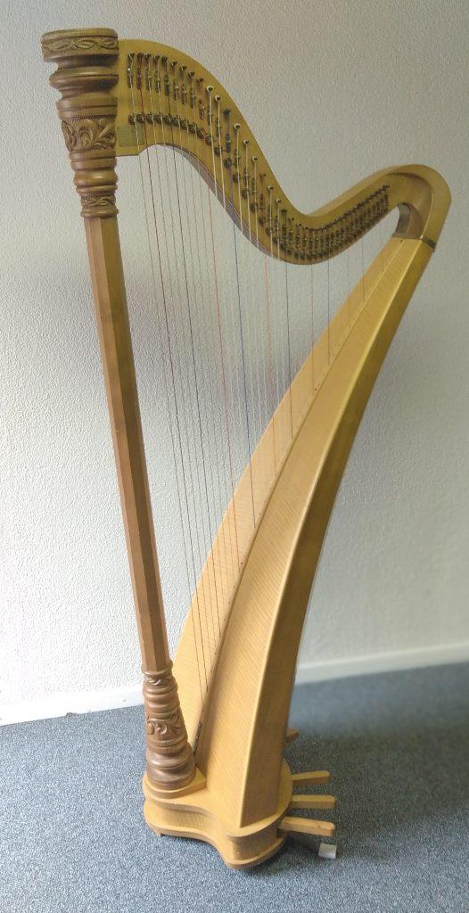 Einfachpedal Harfe gebraucht